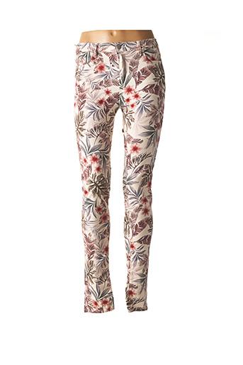 Pantalon casual beige KAPORAL pour femme