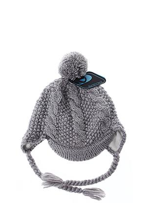 Bonnet gris CHILLOUTS pour fille