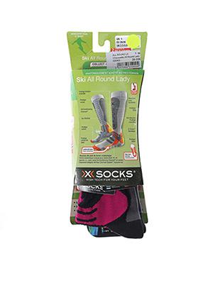 Chaussettes gris X-SOCKS pour femme