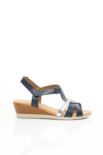 Sandales/Nu pieds bleu JORDANA pour femme