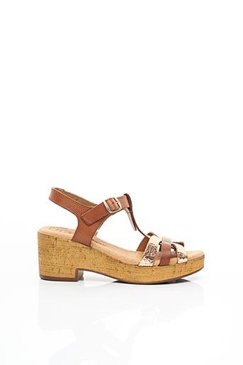 Sandales/Nu pieds marron JORDANA pour femme