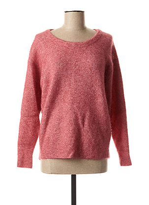 Pull col rond rose YAYA pour femme