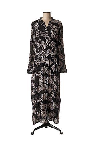 Robe longue noir YAYA pour femme