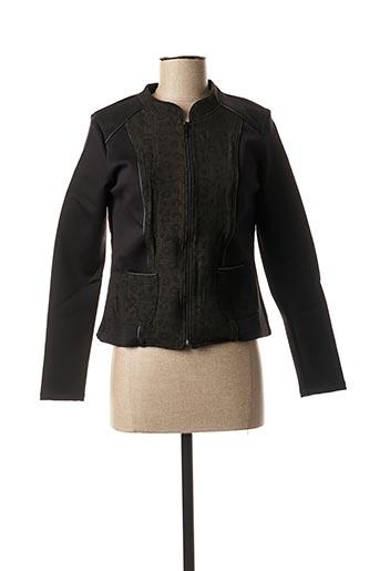 Veste casual noir PAUL BRIAL pour femme