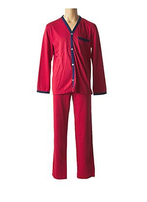 Pyjama rouge JIL pour homme