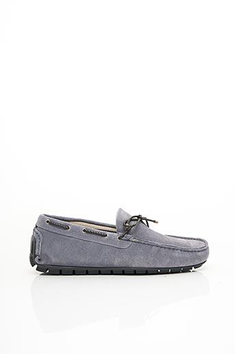 Chaussures bâteau bleu DOPPELGÄNGER pour homme