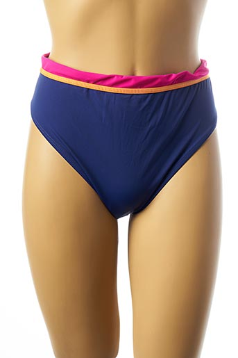 Haut de maillot de bain bleu BELCOR pour femme