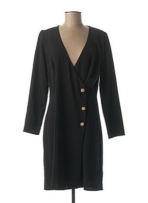 Robe mi-longue noir EMA BLUE'S pour femme
