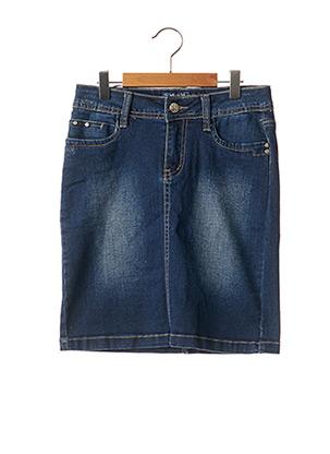 Jupe mi-longue bleu MINI MIGNON pour fille