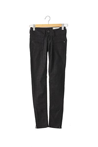 Jeans coupe slim noir PEPE JEANS pour femme