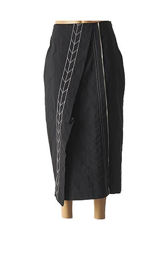 Jupe longue noir LAUREN VIDAL pour femme