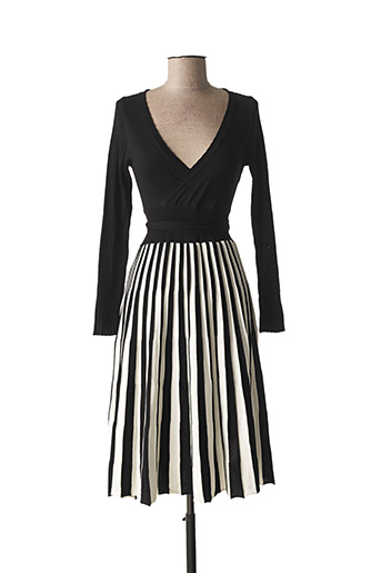 Robe pull noir CARE OF YOU pour femme