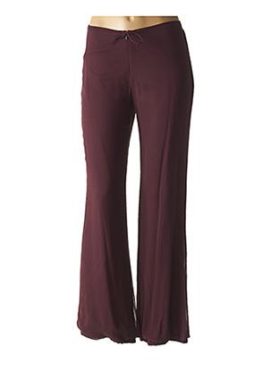 Pantalon chic rouge CALVIN KLEIN pour femme