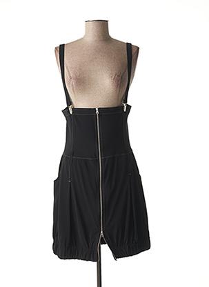 Robe courte noir E-BRYDE pour femme