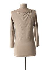 T-shirt manches longues marron LA FEE MARABOUTEE pour femme seconde vue