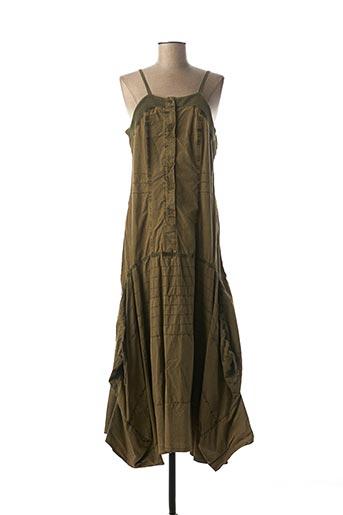 Robe longue vert ET COMPAGNIE pour femme