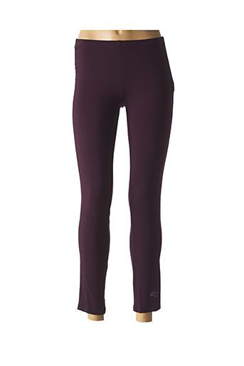 Legging violet AVENTURES DES TOILES pour femme