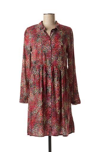 Robe courte rouge CKS pour femme