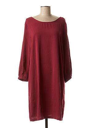 Robe courte rouge BEST MOUNTAIN pour femme