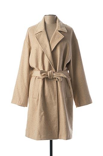 Manteau long marron BEST MOUNTAIN pour femme