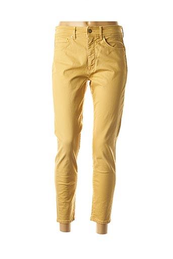 Jeans coupe slim jaune SALSA pour femme