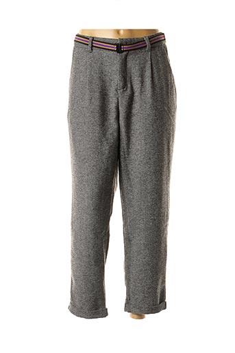 Pantalon 7/8 gris CKS pour femme