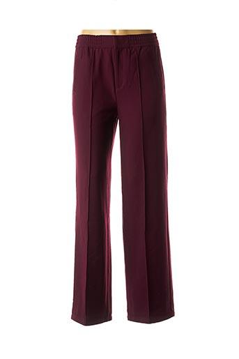 Pantalon chic violet CKS pour femme
