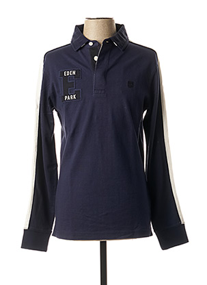 T-shirt manches longues bleu EDEN PARK pour homme