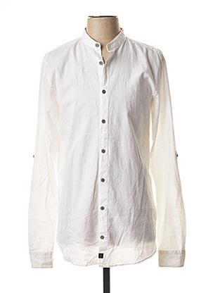 Chemise manches longues blanc STRELLSON pour homme