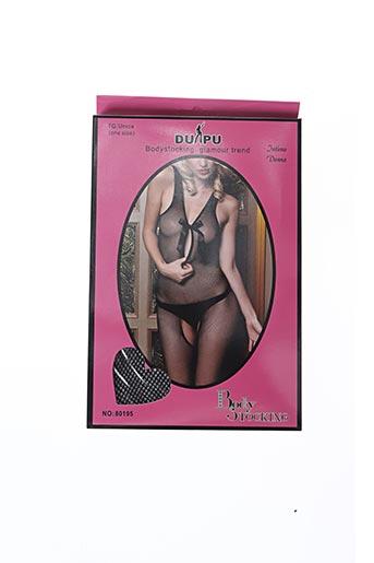 Body lingerie noir DUPU pour femme