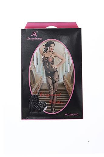 Body lingerie noir KINGHONG pour femme