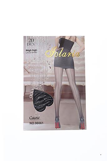 Collants noir FOLARIA pour femme
