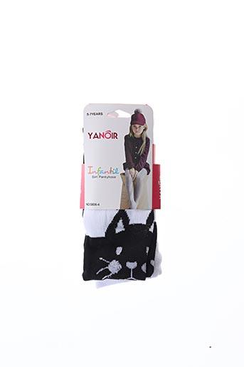 Collants noir YANOIR pour fille