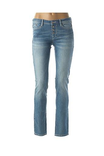 Jeans coupe slim bleu EDC pour femme