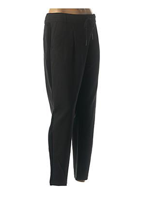 Pantalon casual noir ONLY pour femme