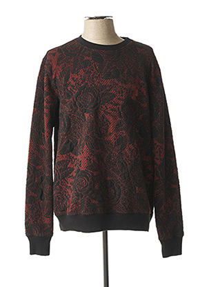 Pull col rond rouge PEARLY KING pour homme