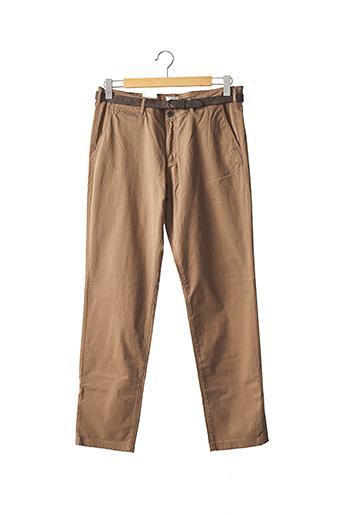 Pantalon casual marron JACK & JONES pour homme