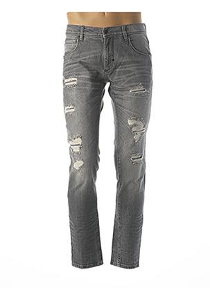 Jeans coupe slim gris ANTONY MORATO pour homme