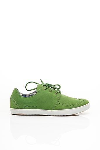 Baskets vert MASCARET pour homme