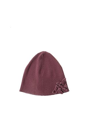 Bonnet violet LILI GAUFRETTE pour fille