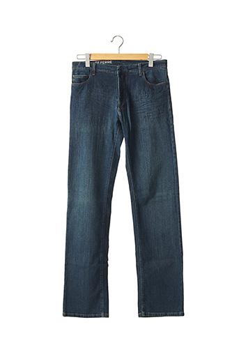Jeans coupe droite bleu GIANFRANCO FERRE pour homme