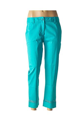 Pantalon 7/8 bleu FUEGO WOMAN pour femme