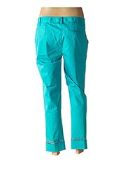 Pantalon 7/8 bleu FUEGO WOMAN pour femme seconde vue