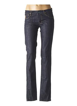 Jeans coupe slim bleu APRIL pour femme