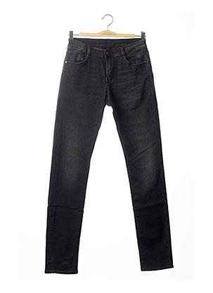 Jeans coupe slim noir LE TEMPS DES CERISES pour garçon