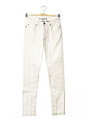 Pantalon 7/8 blanc IKKS pour femme