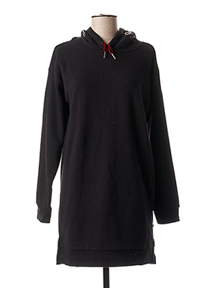 Robe pull noir LE TEMPS DES CERISES pour fille