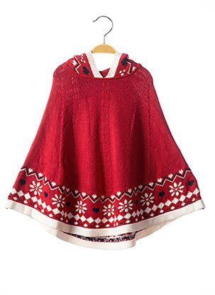 Poncho rose CHICCO pour fille