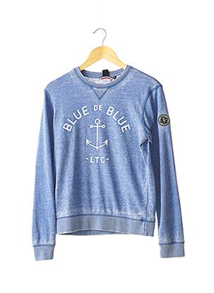 Sweat-shirt bleu LE TEMPS DES CERISES pour fille