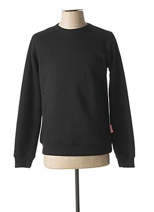 Sweat-shirt noir LE TEMPS DES CERISES pour garçon